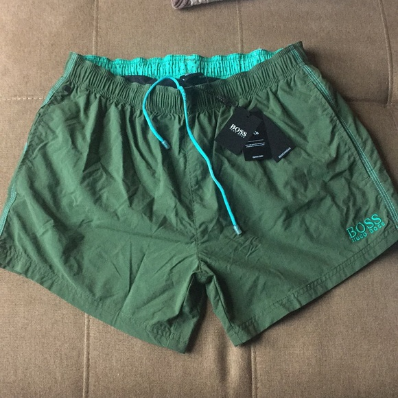 2f69d5ac Hugo Boss Swim | Boss Wear Perch Shorts Nwt | Poshmark